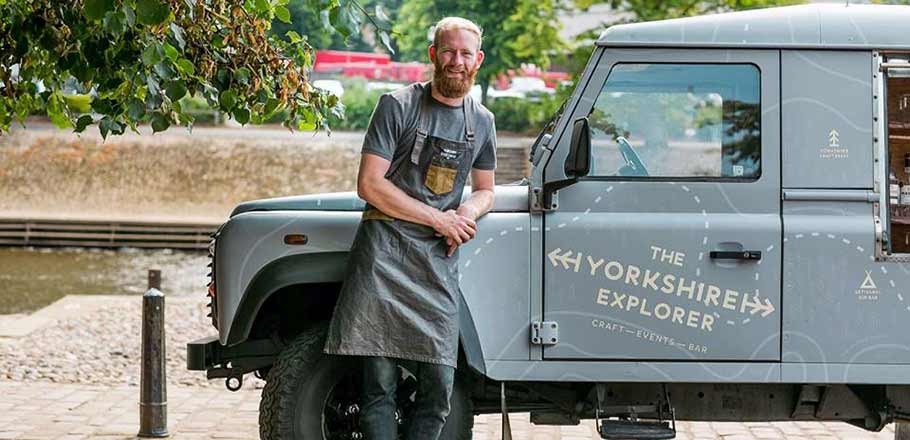 Callum Houston with The Yorkshire Explorer from Yorkshire Bartender